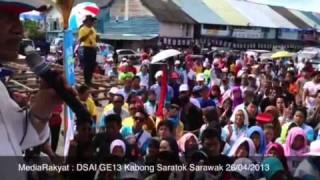 Newsflash: Anwar Ibrahim at Saratok Sarawak