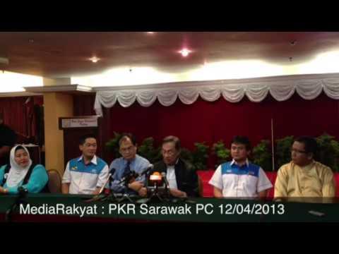 Anwar Ibrahim: Pengumuman Calon Parlimen PKR Sarawak