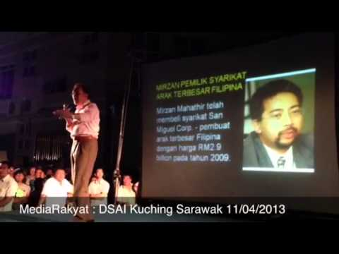 Anwar Ibrahim: Mahathir, Saya Bukan Najib, Saya Berani Lawan