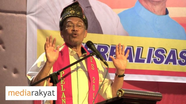 Anwar Ibrahim: Majlis Pelancaran Pertubuhan Pakatan Perubahan Sabah