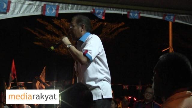 Anwar Ibrahim: Najib, Kamu Kalau Mahu Pimpin, Kamu Mesti Berani
