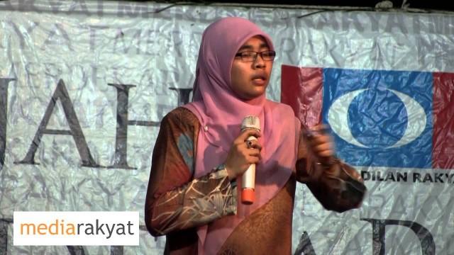 P063 – Siti Aishah: Satu Anwar Ditangkap, Ribuan Anwar Akan Bangkit Tumbangkan Kerajaan UMNO BN