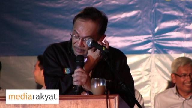 Anwar Ibrahim: Pengumuman Calon-Calon PKR Negeri Selangor
