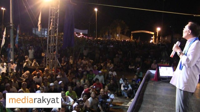 Anwar Ibrahim: Ceramah & Pengumuman Calon PKR Perak