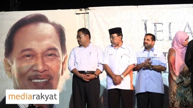 Anwar Ibrahim: Pengumuman Calon-Calon PKR Negeri Perak