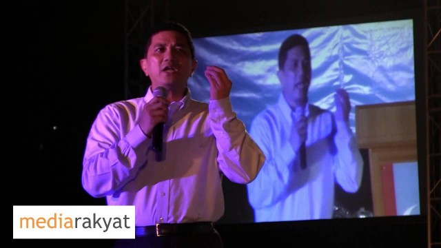 Azmin Ali: Budaya Politk Fitnah Budaya Politik Kotor, Enough Is Enough, Kita Kena Tolak UMNO BN