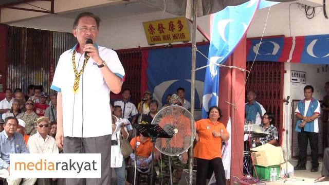 Anwar Ibrahim: Yang Curi Balak, Baik. Yang Pertahan Rakyat, Jahat