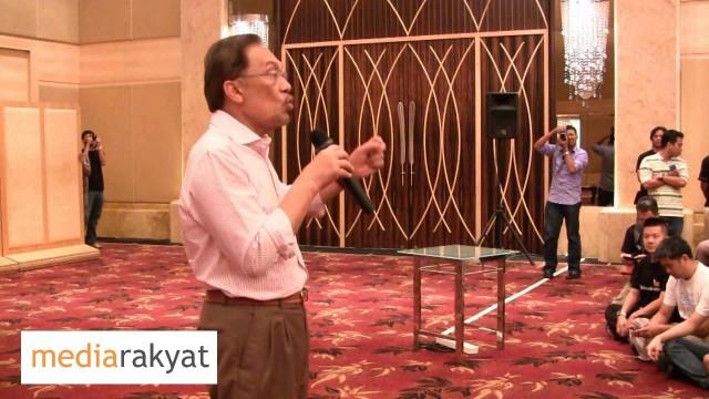 (AIC) Anwar Ibrahim: Cabaran Bukan Sahaja Pakatan Rakyat, Tapi Cabaran Juga Kepada Anak Muda