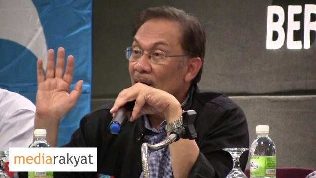 """Anwar Ibrahim: Politik, Dasar & Kepimpinan Adalah Isu """"Trust"""""""