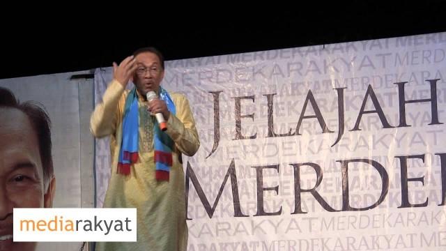 Anwar Ibrahim: Tak Akan Khianati Dengan Agama Dan Akan Bekerja Untuk Mengangkat Martabat Islam