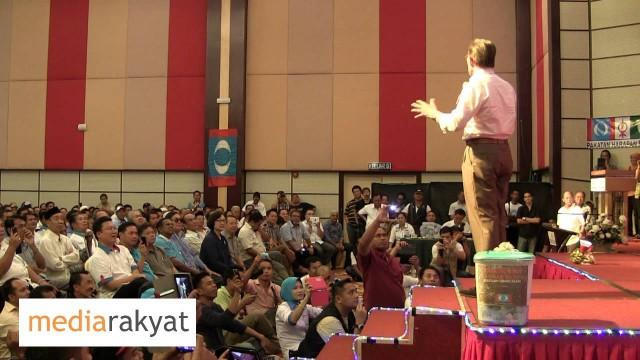 Anwar Ibrahim: Calon DAP Calon Saya, Calon PAS Calon Saya, Calon KeAdilan Calon Saya
