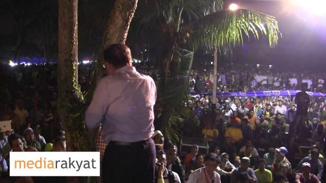 Anwar Ibrahim: Ceramah MerdekaRakyat Kg Melayu Majidee, Johor Bahru