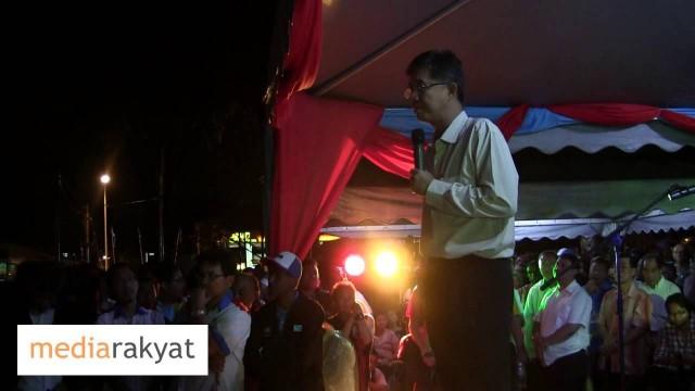Tian Chua: Jangan Sekali-kali Mengkhianati Amanah Rakyat
