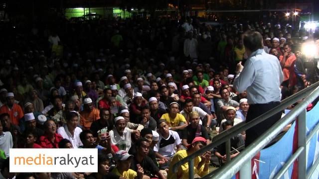 Anwar Ibrahim: Ceramah Pakatan Harapan Rakyat Di Alor Setar (31/03/2013)