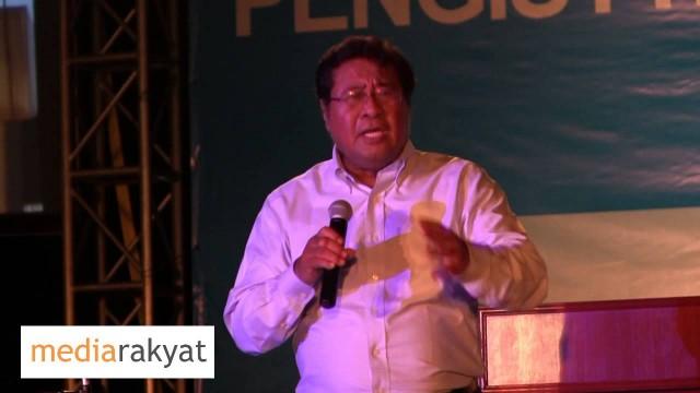 Khalid Ibrahim: Jangan Bocor, Di Bawah UMNO Barsian Nasional, Dia Bocor