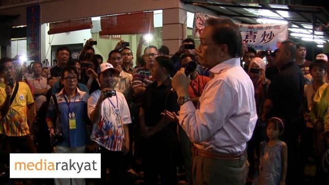 P198 – Anwar Ibrahim: Ceramah Di Mambong Sarawak