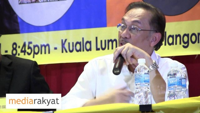 Anwar Ibrahim: The New Economic Policy Now Is Proven To Enrich The Families & Cronies Of UMNO