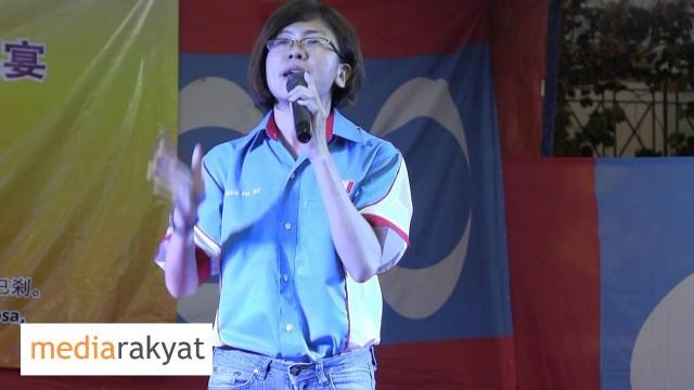 N14 – 颜贝倪 Gan Pei Nei: Ceramah Kempen PRU13 Tmn Sri Sentosa 23/04/2013