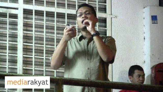 Nik Nazmi: Kempen PRU13 Gasing Indah 22/04/2013