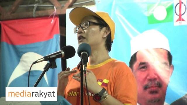 N37 – Elizabeth Wong: Ceramah Kempen PRU13 Kg Kayu Ara 22/04/2013