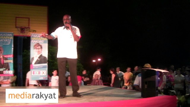 Sivarasa Rasiah: Don't Think Your Vote Is Not Important, Every Vote Counts