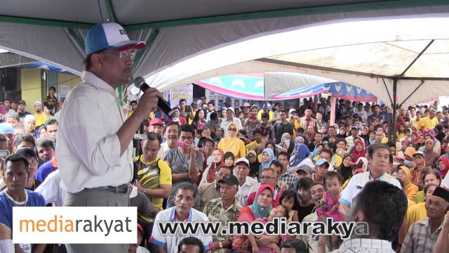 (New) Anwar Ibrahim: Ceramah Perdana Di Lahad Datu, Sabah