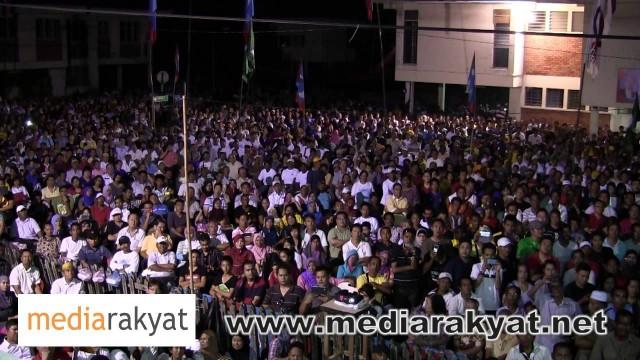 (New) Anwar Ibrahim: Ceramah Perdana Di Tawau, Sabah