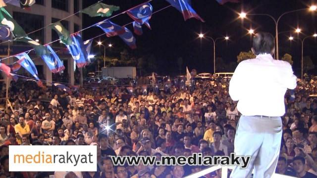 (New) Anwar Ibrahim: Ceramah Perdana Di Miri, Sarawak