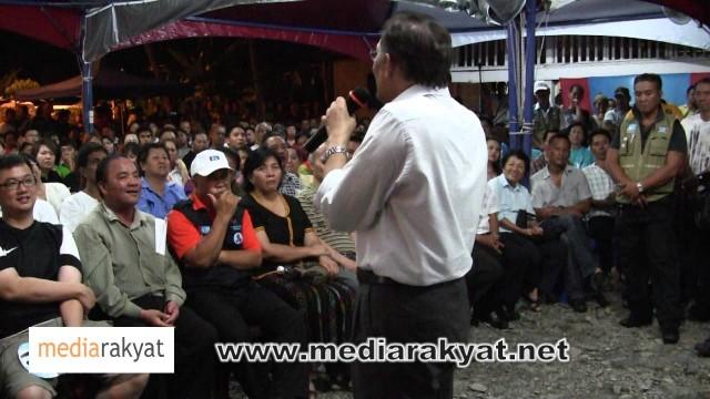 Anwar Ibrahim: Ceramah Perdana Di Penampang, Sabah