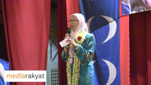 Dr Wan Azizah: Pastikan Ikut Peti Undi Bagi Mengelakkan Penipuan