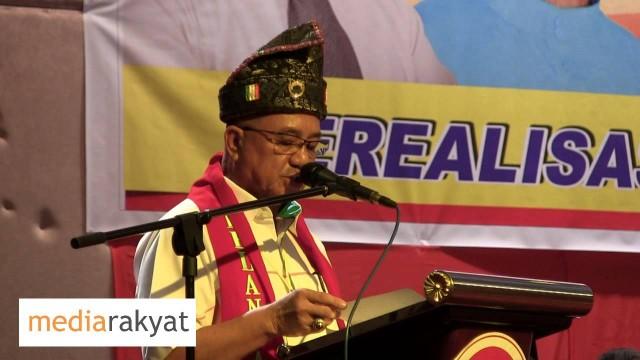 Lajim Ukin: Majlis Pelancaran Pertubuhan Pakatan Perubahan Sabah (PPPS)