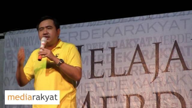 Anthony Loke: Rakyat Kena Bangkit Pada Hari Pengundian Pangkah Pakatan Rakyat
