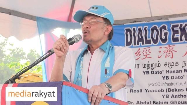 Anwar Ibrahim: Datuk UMNO Yang Tak Benar Mencangkul Dapat Lebih Daripada Bapa Kamu Kerja 30 Tahun