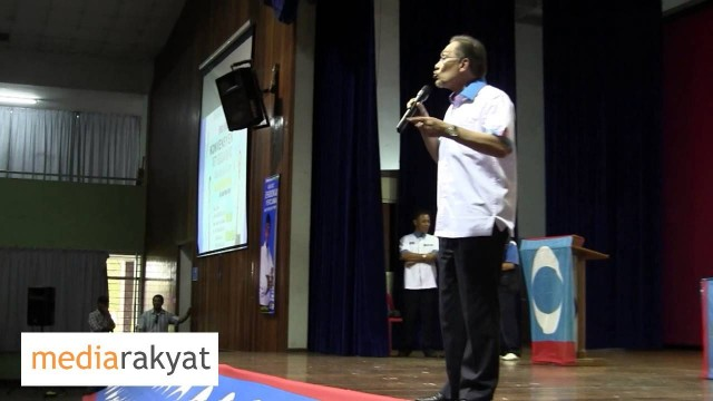 Anwar Ibrahim: Sudah Sampai Masa Rakyat Mesti Pakat & Kuat Tumbangkan Yang Zalim