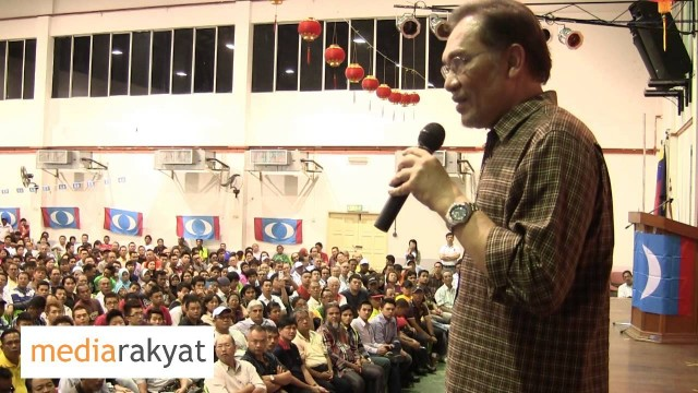 Anwar Ibrahim: Mahathir, You Are Wrong, Don't Insult The Rakyat