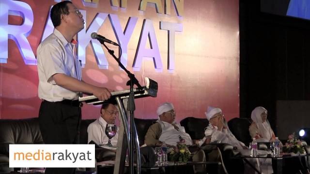 Lim Guan Eng: Konvensyen Pakatan Rakyat 2013