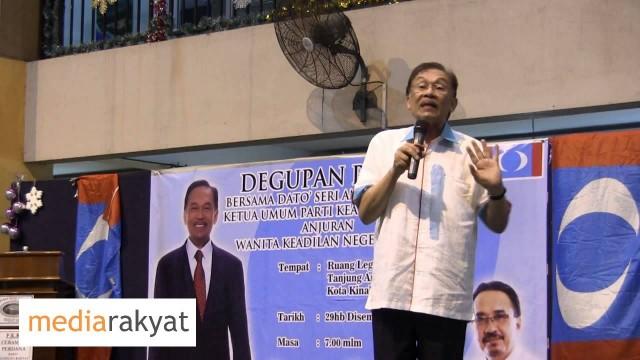 Anwar Ibrahim: Rakyat Tidak Boleh Diperbodohkan Selama-Lamanya
