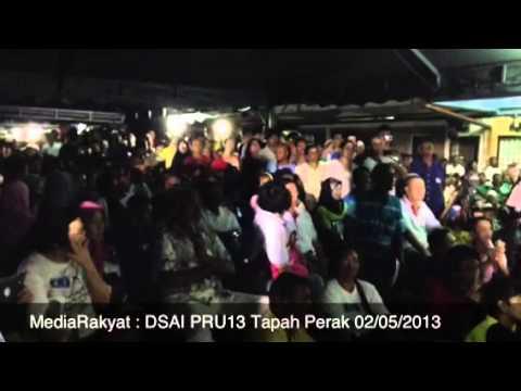 Newsflash: Anwar Ibrahim Di Tapah Perak