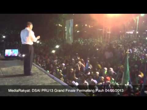Newsflash: Anwar Ibrahim PRU13 Grand Finale Permatang Pauh