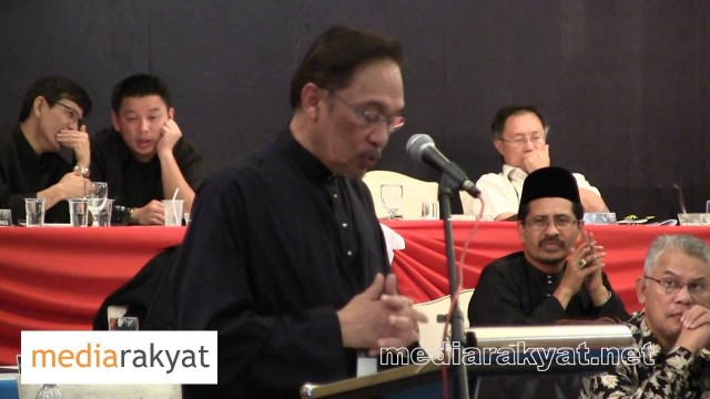 Anwar Ibrahim: PKR National Congress 2013