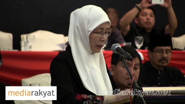 Dr Wan Azizah: PKR National Congress 2013