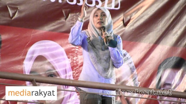 Nurul Izzah: We Shall Never Surrender To A Racist, Corrupt & Pathetic Government