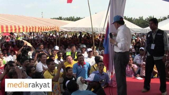 Anwar Ibrahim: Kempen PRU13 Hutan Melintang Perak