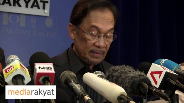 (PC) Anwar Ibrahim: Najib Dengan Kerjasama Penuh SPR Teleh Merompak Kemenangan Pakatan Rakyat