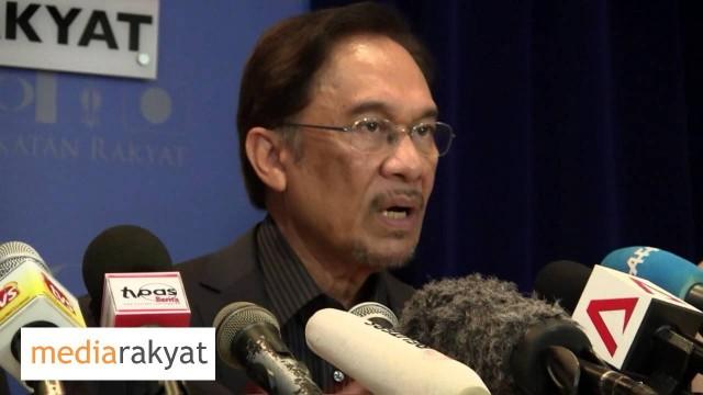 (PC) Anwar Ibrahim: Akan Tetap Bersama Rakyat, Menolak Kecurangan, Menolak Pimpinan Yang Tidak Sah