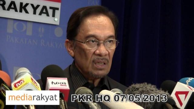 Anwar Ibrahim: See You In Black Tonight At Kelana Jaya Stadium