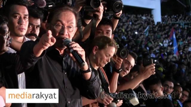 Anwar Ibrahim: Perhimpunan Suara Rakyat Suara Keramat Di Stadium Kelana Jaya