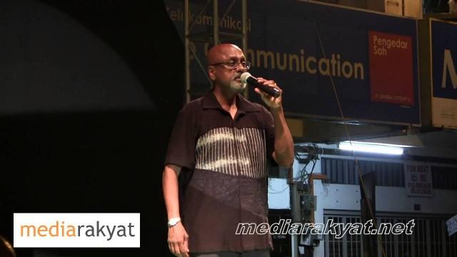 Sivarasa Rasiah: Perhimpunan Hitam 505 Di Ipoh Perak