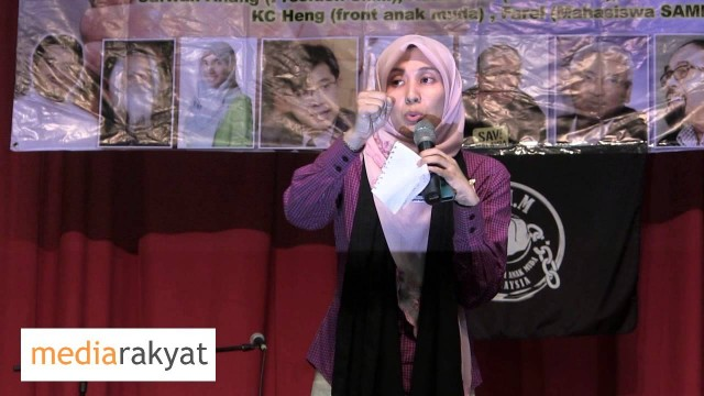 Nurul Izzah: EC, You think You Can Be Free, Think Again