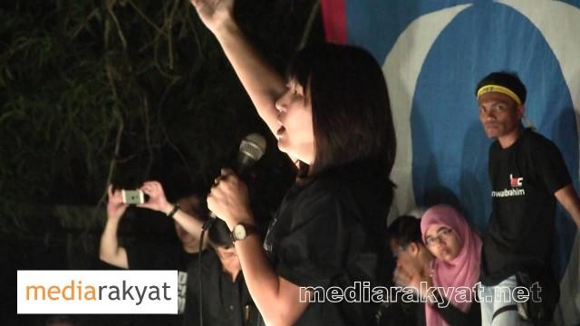 Felicia Ling: Perhimpunan Blackout 505 Di Kuantan 14/05/2013